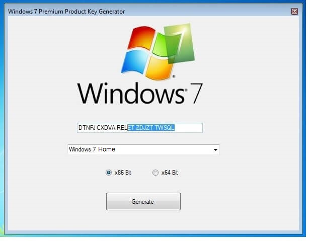 Windows 7 Home Premium Product Key Working