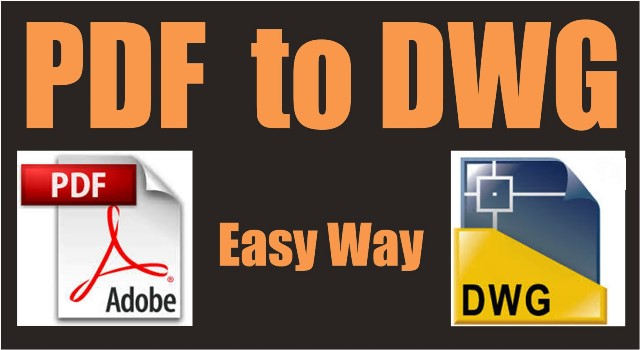 Any PDF to DWG Converter 2018 Crack + Registration Code [Latest]
