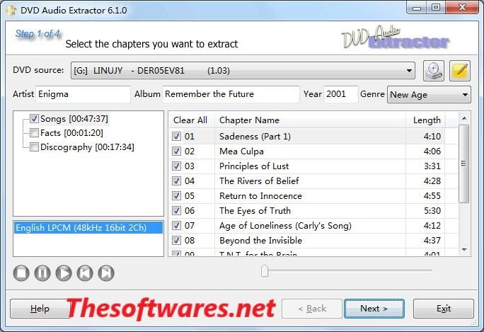 DVD Audio Extractor 7 6 0 Crack & License Key Free Download