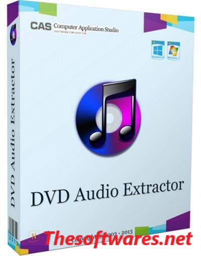 DVD Audio Extractor 8.0.0 Crack & License Key Free Download