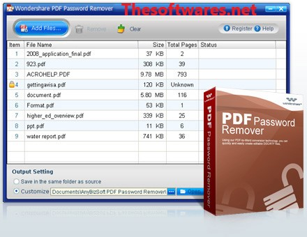 Wondershare PDF Password Remover Crack + License Key [Latest]