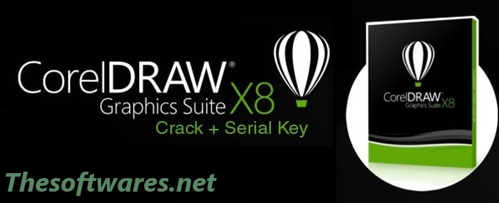 Corel DRAW X8 Crack & Serial Keygen 2018 Full