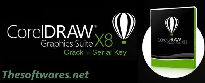 Corel DRAW X8 Crack & Serial Keygen 2018 Full