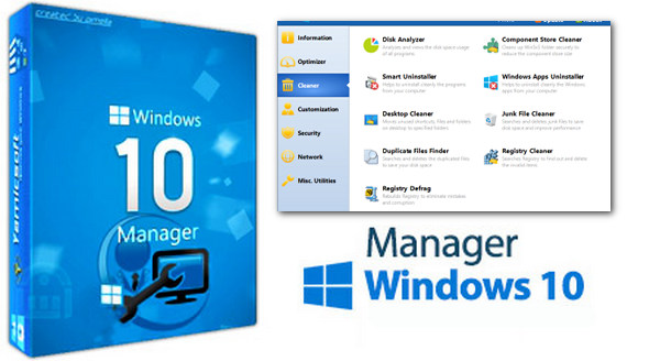 Windows 10 Manager 2.3.0 Crack + Serial Key [Latest]
