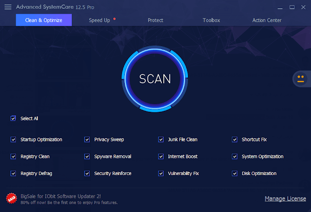 Advanced SystemCare Pro 14.5.0.292  Crack With Serial Key Free Download